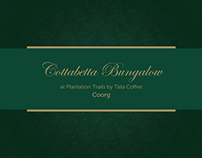 Cottabetta Bungalow by TATA Coffee, Coorg - Brochure