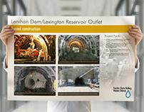 Lenihan Dam Construction Poster
