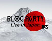 "MTV ""Live in Japan"""