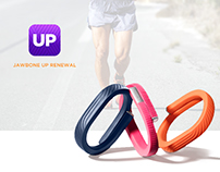 JAWBONE UP -healthcare application redesign