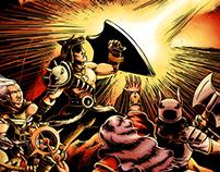 Barbarian Fantasy Illustration