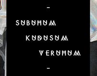 SUBUHUM KUDUSUM VERUHUM