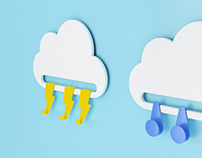 Cloud Kids Hanger