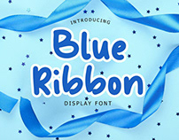 Blue Ribbon Fun Display Font