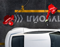 Visual Concept for LUKOIL Fuelling Service Adv