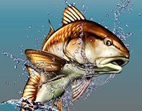 Fish and wildlife art