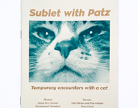 Sublet with Patz - Self published zine