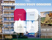 Webdesign - Musée Urbain Tony Garnier