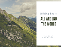 Hiking Spots all Around the World | Vincent Granville