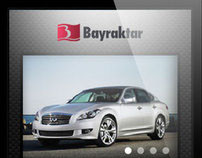 Bayraktar Holding Mobile Website