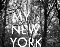 My New York Poster