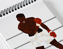 Muhammad Ali - Mosaïque