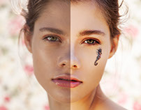 Hi-End. Beauty Retouch. Before/After