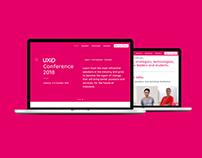 UXID Conference 2018 - Landing Page Design