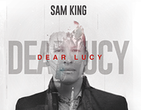 Sam King - Dear Lucy | CD Cover Redesign