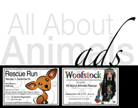 All About Animals: Advertisements