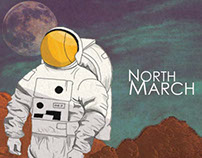 North March - Gig Poster