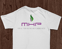 MHP Services logo and stationery