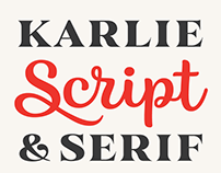 Karlie Font Family   FREE Extras