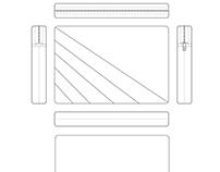 Laptop Sleeve Design on Illustrator