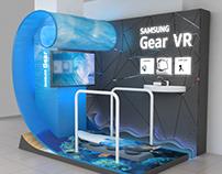 SAMSUNG VR experience zone