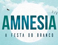 Amnesia - A Festa do Branco - Identidade Visual