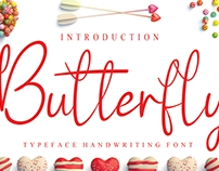 FREE | Butterfly Font
