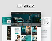 Delta Furniture Website Design