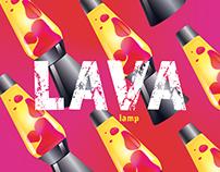 LAVA lamp branding (poster)