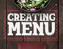 Creating menu