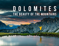 Dolomites. The beauty of the mountains