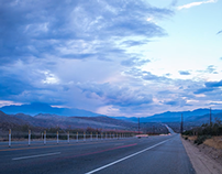 Indio Highway Time Lapse
