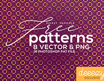 8 Free Geometric Patterns