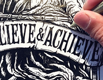 King Midas - Believe & Achieve T-Shirt - USA