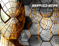 Spiderman-Blend of 3D Modeling & Graphic Designing