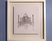 India´s Taj Mahal
