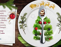 Lot catering: Christmas card