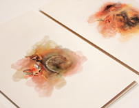 WATER COLOUR GREETING CARDS
