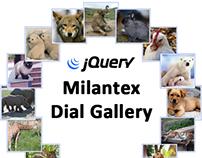 Milantex Dial Gallery jQuery plugin
