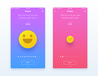 iHappy | iOS App UI/UX Design
