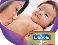MJN Enfamil A+ Gentle Care: Adjust digestive discomfort