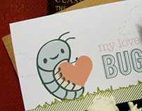 Love Bug Mini Note Card