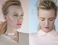 Beauty editorial for Nord magazine