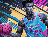 Jimmy Butler #22 | Miami HEAT | Vice Wave