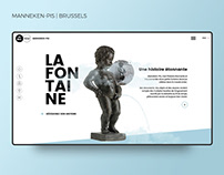 Manneken-Pis - The foutain