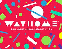 Wayhome 2016 Artist announcement
