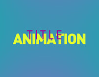 Title animation