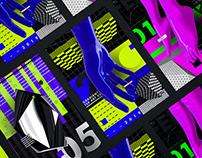 No Gradient Poster Art / Series