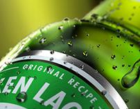 Heineken喜力啤酒C4D