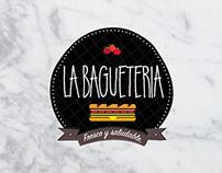 Logo La baguetería